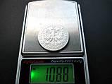 Серебро 750 пробы 5 злотых ПОЛЬША 1933 год Оригинал, фото 7