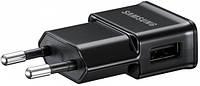 Зарядка USB Samsung 2А черный цвет, оригинал
