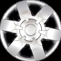 Колпаки колесные SJS 413 радиус R16 комплект 4шт