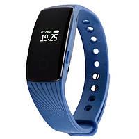 Фитнес трекер VeryFit HR 107 с датчиком сердцебиения для iPhone и Android синий