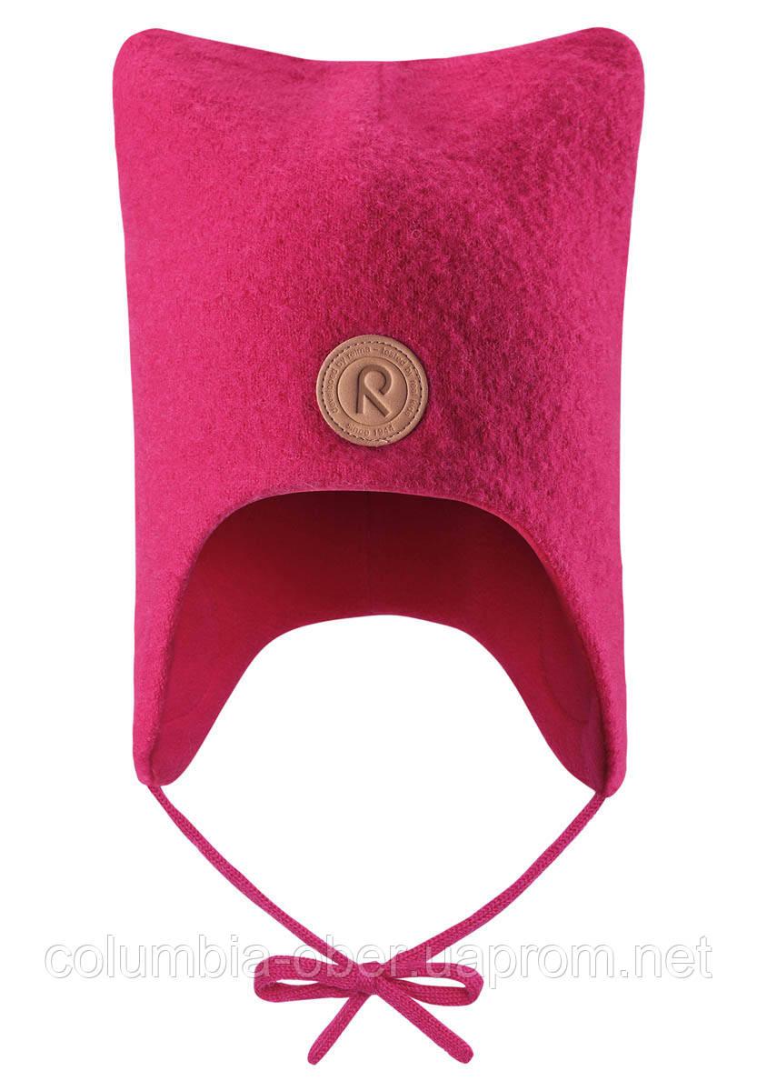 Детская зимняя шапка для девочки Reima Otus 518435-3560. Размеры 46-52.