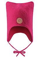Детская зимняя шапка для девочки Reima Otus 518435-3560. Размеры 46-52. , фото 1