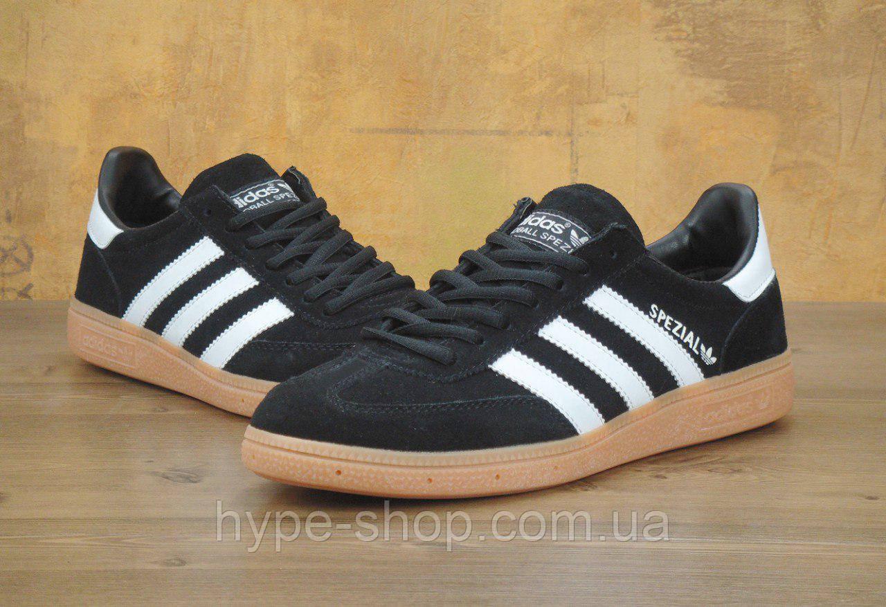 Мужские черные кроссовки Adidas Spezial  79cef4c071b35