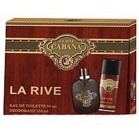 La Rive Cabana Подарочный набор для мужчин (Туалетная вода 90мл  Дезодорант 150мл)
