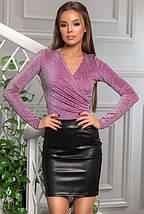 Сексуальная кожаная юбка Мини, фото 2