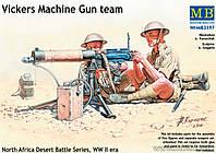 Расчет пулемета VICKERS в Северной Африке. 1/35 MB3597