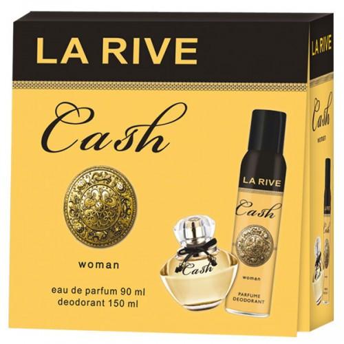 La Rive Cash Подарочный набор для мужчин (Туалетная вода 100мл  Дезодорант 150мл)