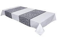 Скатерть классическая c орнаментом, 133х224 см, Эксклюзивные подарки, Столовый текстиль