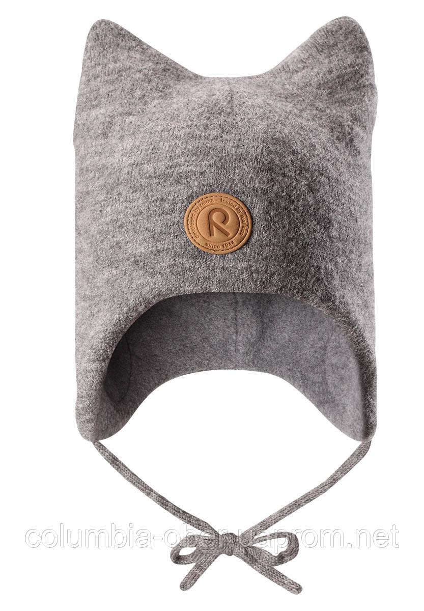 Детская зимняя шапка для мальчика Reima Otus 518435-9400. Размер 46.