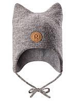 Детская зимняя шапка для мальчика Reima Otus 518435-9400. Размер 46., фото 1