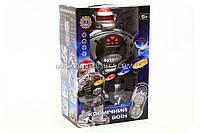 Робот «Космический воин» на радиоуправлении (двигается, танцует, свет, звук) M 0465