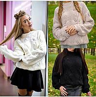 """Женский свитер """"Листик"""""""