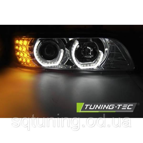 Фары BMW E39 3D DAYLIGHT BLACK