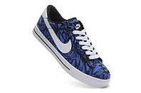 Мужские кроссовки Nike Shox Rivalry blue