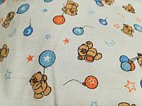 Набор пеленок Медвежонок с шариком 90см х 100см