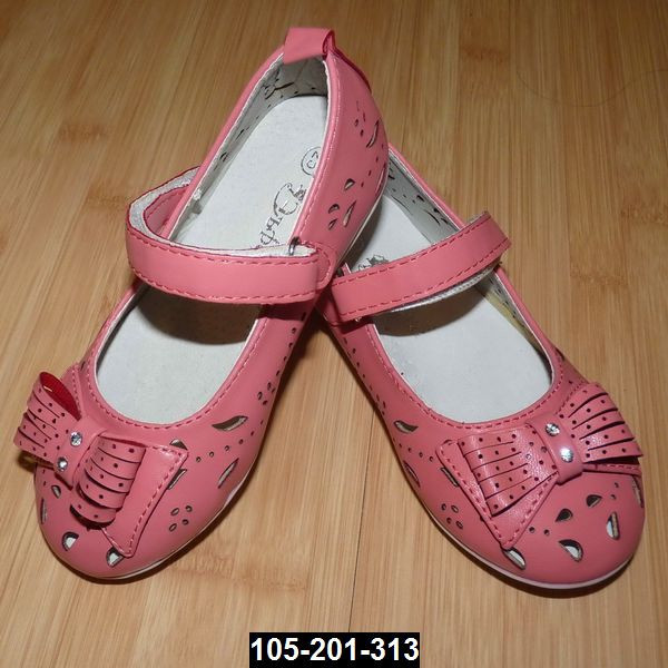 Легкие туфельки для девочки, 19 размер (12.2 см)