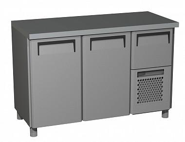 Холодильний стіл Carboma BAR 250C (скляні двері)
