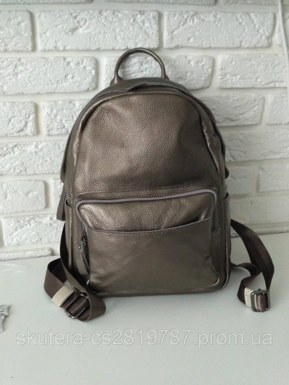 a7dd8c7fdb8b Вместительный женский кожаный рюкзак