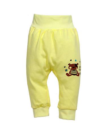 """Штанишки  для  малышей """"Мишка Тедди"""" кулир , фото 2"""
