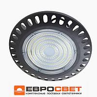 LED светильник подвесной купольный промышленный для высоких потолков EVRO-EB-100-03 110 А++ 100W 10000Lm IP65