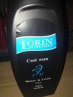 Мужской гель для душа Lorin Гель для душа Lorin for Men 1л