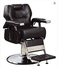 Мужское парикмахерское кресло SanAndreas для барбершопа черное