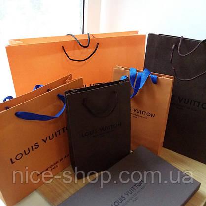 Подарочный пакет Louis Vuitton:коричневый, вертикаль, mini, фото 3