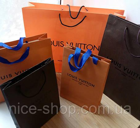 Подарочный пакет Louis Vuitton:коричневый, вертикаль, mini, фото 2