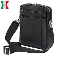 Мужская кожаная сумка-мессенджер Black Diamond BD11A