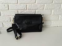 """Женская кожаная сумка """"Синди4, Black"""", фото 1"""