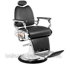 Парикмахерское мужское кресло Tiger Black (барбершоп)