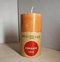 Арома свеча Цилиндр Корица  Д=4.6см Н=9.5см - 140 гр