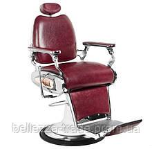 Парикмахерское мужское кресло Tiger Bordo (барбершоп)
