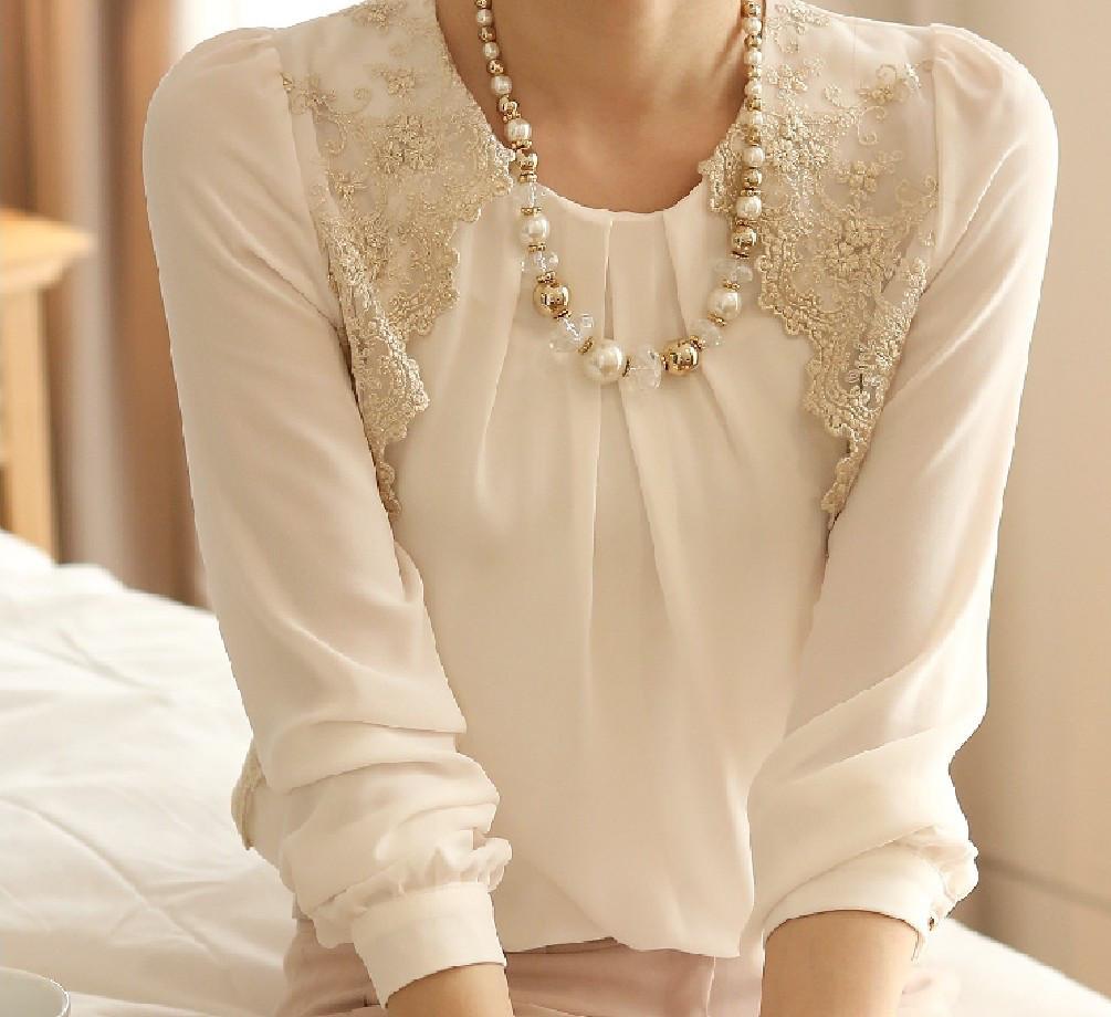 Женская блуза Golden Openwork СС7720