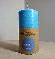 Арома свеча Цилиндр Жасмин  Д=4.6см Н=9.5см - 140 гр