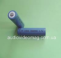 Литий-ионный аккумулятор 3.7V 14500 (AA) Li-ion 580 mAh