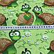 Хлопковая ткань польская веселые черепахи №190, фото 4