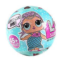 L.QL. в шарике, с аксессуарами кукла lol