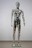 Манекен мужской серебряный, фото 1