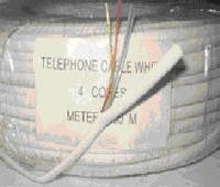 Кабель телефонный 4ж. (6х0,12)    Код: 7-0003А