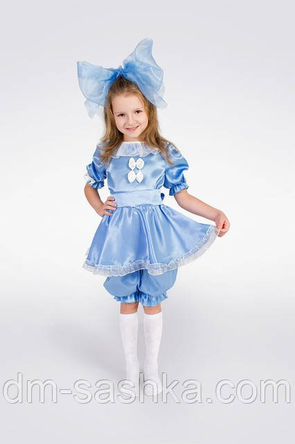 Детский карнавальный костюм «Мальвина» рост 80-86
