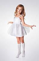 Детский карнавальный костюм «СНЕЖИНКА» рост 80-86, 92-98, фото 1