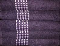 ТМ TAG Полотенце махровое Goroh (фиолетовый) 50х90