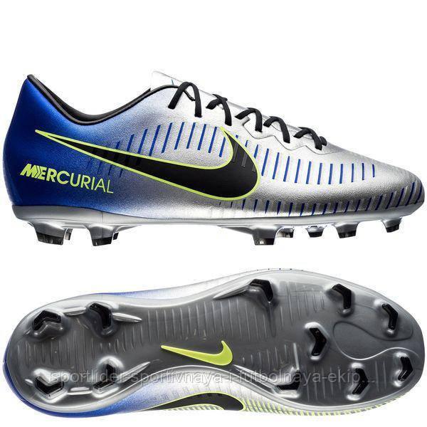 9a390105aba4 Футбольные бутсы Nike Mercurial Victory VI Neymar FG 921509-407 ...