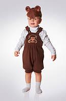 Детский карнавальный костюм Эконом «Мишка» рост 80-86