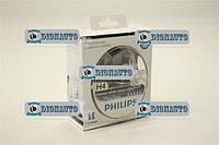 Лампа автомобильная Н4 Р43 12V 60/55W+W5W 12V PHILIPS White Vision к-т  (12342WHVSM)