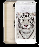 """Смартфон UleFone Tiger Lite Gold, 1/16Gb, 8/2Мп, 4 ядра, 2sim, экран 5,5"""" IPS, 3500mAh, GPS, 3G. , фото 1"""