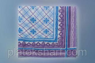 Платок носовой - текстиль ритуальный хлопок 44*45см хлопок