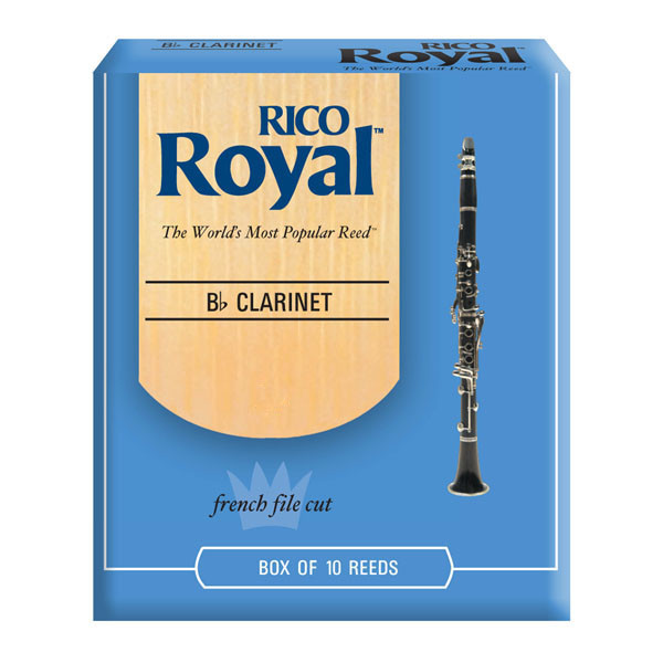 Трости для духовых RICO Rico Royal - Bb Clarinet #1.5 - 10 box