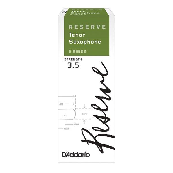 Трости для духовых D`ADDARIO Reserve - Tenor Sax 3.5 - 5 Box
